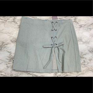 Dresses & Skirts - Denim plus size skirt